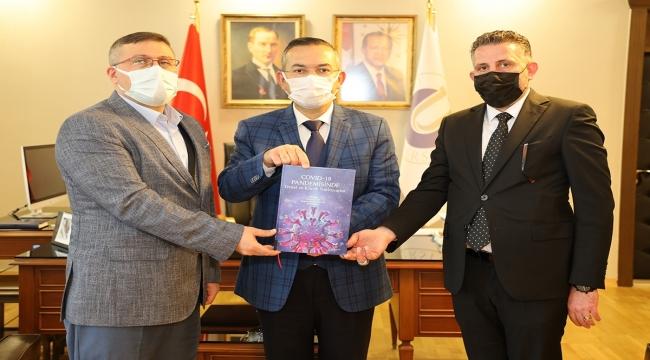 Ordu Üniversitesi akademisyenleri Kovid-19'la ilgili bilimsel kitap hazırladı
