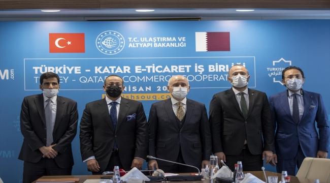 """PTT ile Katar iş birliğiyle kurulan """"turkishsouq.com"""" üzerinden tüm dünya alışveriş yapabilecek"""