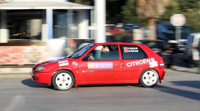 """""""Rally Bodrum"""" turnuvasında seremoni startı yapıldı"""