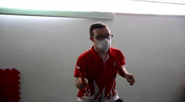 Down sendromlu milli sporcu Erman Çetiner'in hedefi Trisome Oyunları'nda şampiyonluk