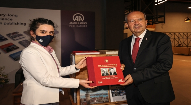 Medya partneri AA'nın standı, Antalya Diplomasi Forumu'nda büyük ilgi görüyor
