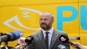 """PTT Genel Müdürü Gülten: """"Elektrikli skuter ile dağıtım, müşterilerimize hız olarak yansıyacak"""""""