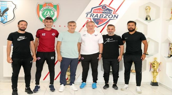 A Milli Takım Teknik Direktörü Şenol Güneş'ten Hekimoğlu Trabzon Kulübünü ziyaret