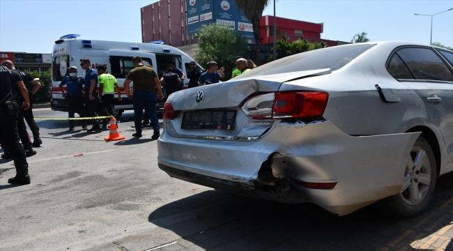 Adana'da otomobille çarpışan motosikletteki 2 yunus polisi yaralandı