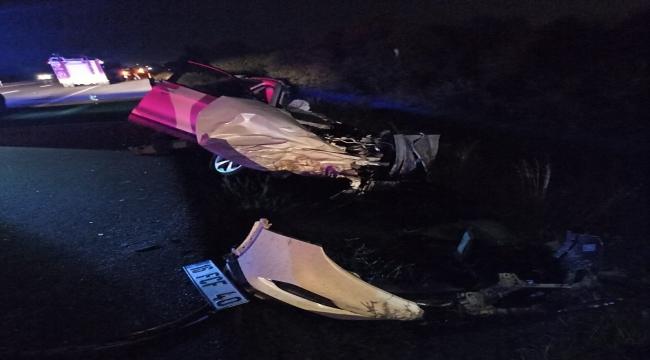 Afyonkarahisar'da 5 aracın karıştığı trafik kazasında 4 kişi yaşamını yitirdi