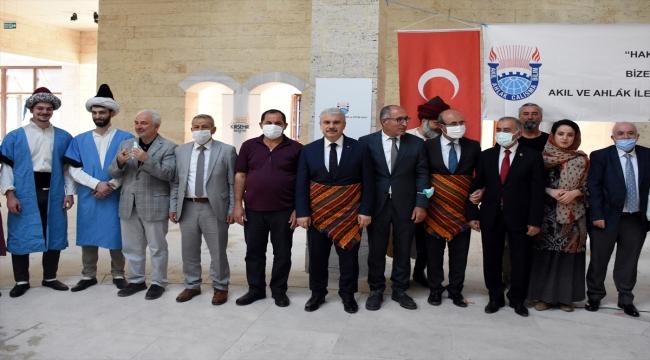 """""""Ahi Evran Yılı"""" dolayısıyla Kırşehir'de Ahilik tanıtım etkinliği düzenlendi"""