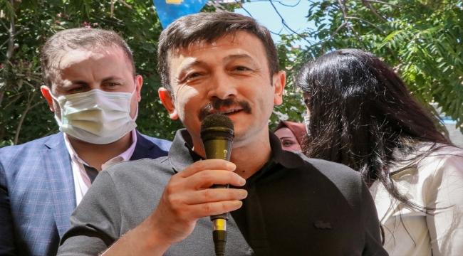 """AK Parti Genel Başkan Yardımcısı Dağ'dan Tunç Soyer'e """"HDP'ye destek verme"""" tepkisi:"""