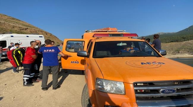 Amasya'da baraj gölünde kaybolan aynı aileden 5 kişi için arama çalışması başlatıldı