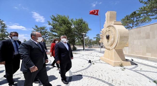 Bakan Varank, Sivas'taki Hamidiye Kültür Parkı'nda incelemede bulundu