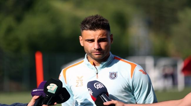 Başakşehir'in orta saha oyuncusu Deniz Türüç, yeni sezonda zirveye oynayacaklarına inanıyor: