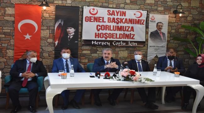 BBP Genel Başkanı Destici, Türkiye'nin istikrarlı yönetime kavuştuğunu söyledi: