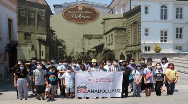 """""""Biz Anadoluyuz Projesi"""" kapsamında Sinoplu öğrenciler Samsun'u gezdi"""