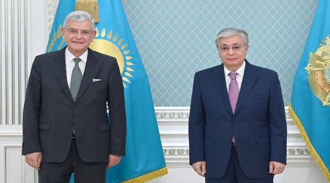 """BM 75. Genel Kurul Başkanı Bozkır: """"Orta Asya'ya geliş nedenim bu ülkelerin mesajlarını dünyaya iletmek"""""""
