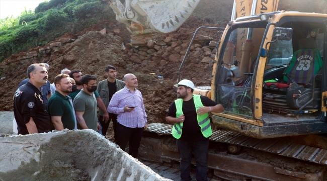 Çevre ve Şehircilik Bakanı Kurum, Rize'de incelemelerini sürdürdü: