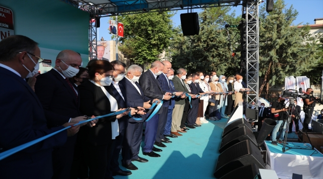 Cumhurbaşkanı Erdoğan, Diyarbakır'da yapımı tamamlanan projelerin toplu açılış töreninde konuştu: (1)