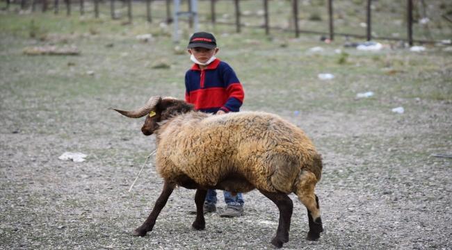 Doğu Anadolu'daki hayvan pazarlarında arife yoğunluğu