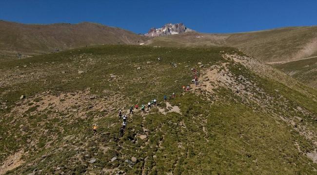 Erciyes, uluslararası koşucuların da parkuru haline geldi