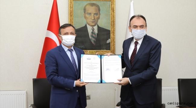 ERÜ iki iş birliği protokolüne imza attı