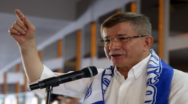 Gelecek Partisi Genel Başkanı Davutoğlu, Erzurum'da ziyaretlerde bulundu:
