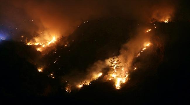 GÜNCELLEME 2- Osmaniye'de çıkan ikinci orman yangınına müdahale sürüyor