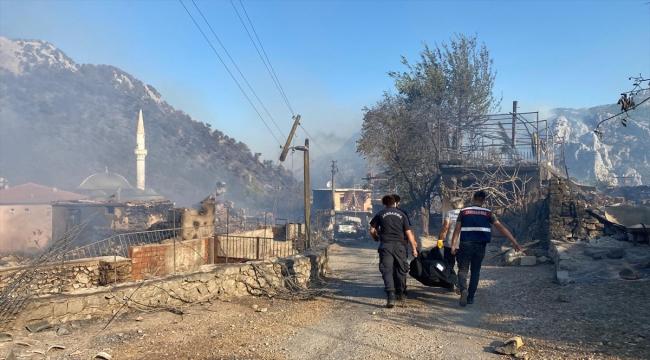 GÜNCELLEME - Antalya'nın Akseki ilçesinde orman yangını çıktı