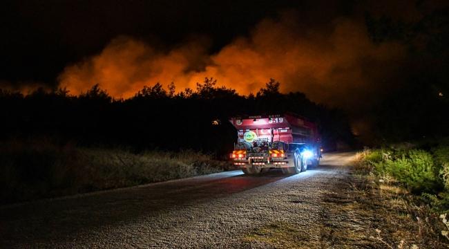 GÜNCELLEME - Osmaniye'de çıkan orman yangınına müdahale sürüyor