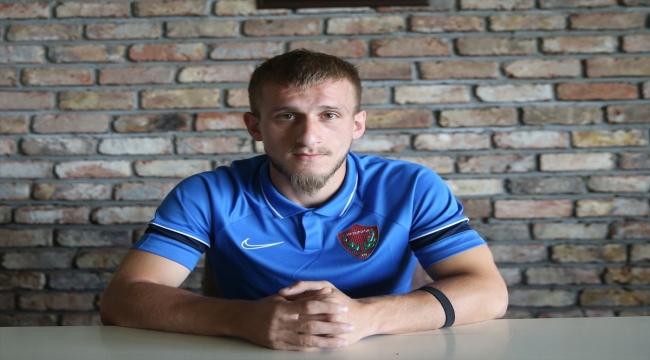 Hatayspor'un yeni transferi Osman Şahin, hedeflerine Akdeniz ekibinde ulaşacağına inanıyor: