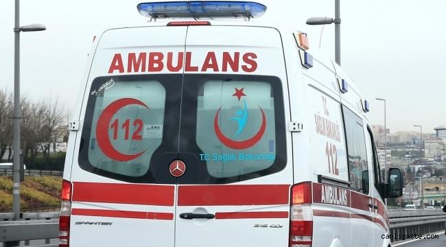 Kayseri'de havalandırma boşluğuna sıkışan kişi hayatını kaybetti