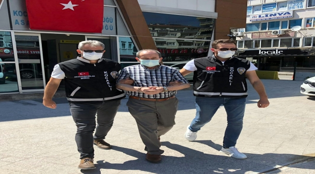 """Kocaeli'de """"dolandırıcılık"""" suçundan 691 yıl 8 ay hapis cezası bulunan hükümlü yakalandı"""