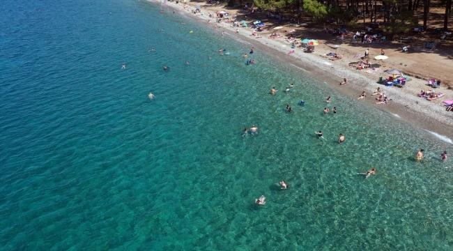Kuşadası ve Didim sahillerinde bayram hareketliliği