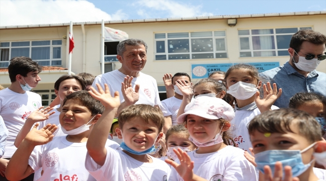 """Milli Eğitim Bakanı Selçuk, Çatalca'da """"Telafide Ben de Varım"""" etkinliğine katıldı:"""