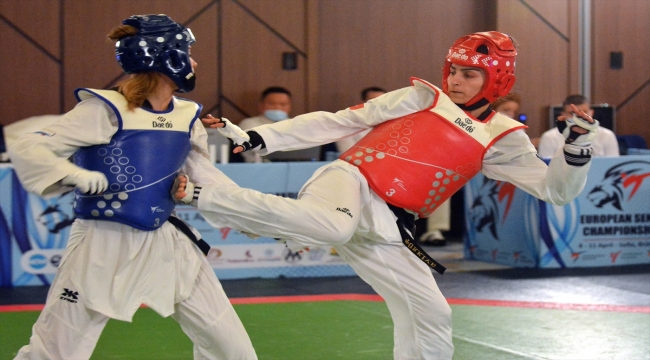Milli tekvandocu Hatice Kübra İlgün'ün hedefi Tokyo Olimpiyatları'nda altın madalya: