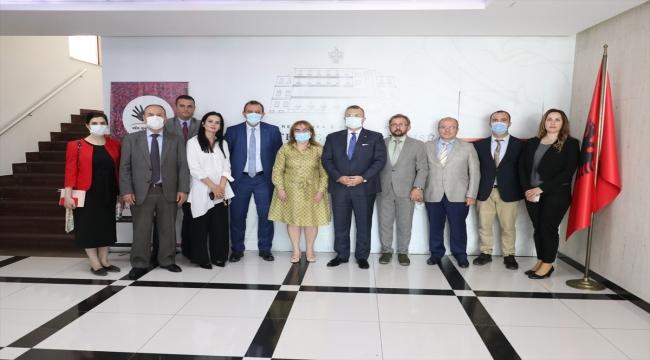 Sağlık Bakanlığı heyeti Arnavutluk'taki temaslarını tamamladı