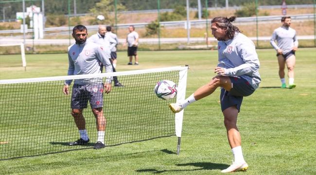 Samsunspor, yeni sezon hazırlıklarını Bolu kampında sürdürüyor