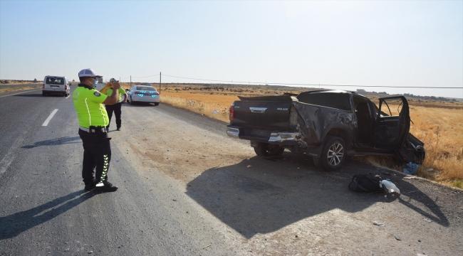 Şanlıurfa'da kamyonet devrildi: 2 ölü, 3 yaralı