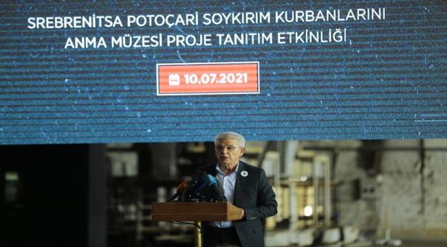 Srebrenista'da TİKA'nın Potoçari Soykırım Kurbanlarını Anma Müzesi Projesi Tanıtım Programı düzenlendi