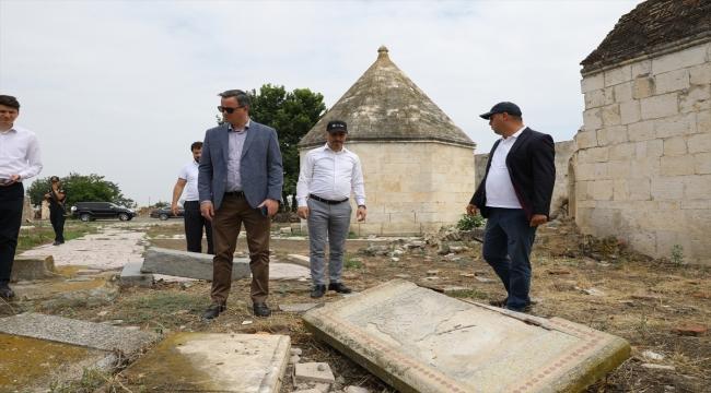 TİKA Başkanı Kayalar, işgal döneminde harabeye çevrilen Ağdam'da incelemelerde bulundu