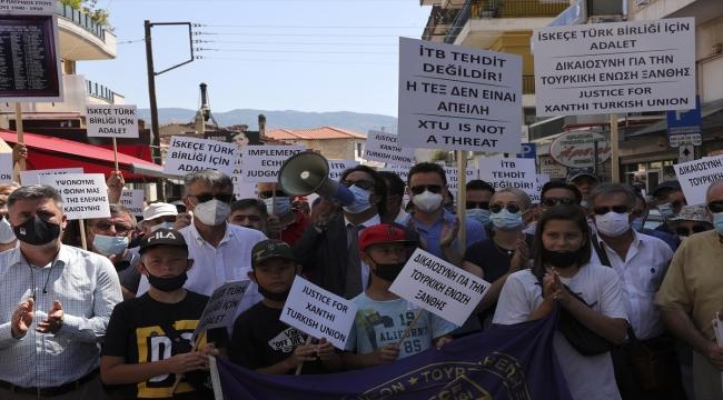 Türk azınlık, Yunan Yüksek Mahkemesinin İskeçe Türk Birliğinin resmi statüsüne yönelik kararını protesto etti