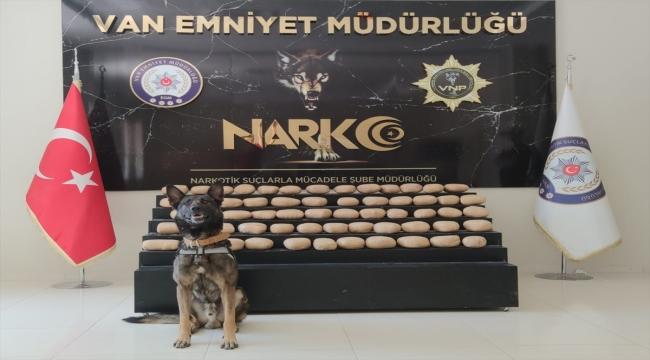 Van'da 66 kilo 790 gram uyuşturucu ele geçirildi