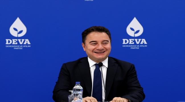 DEVA Partisi Genel Başkanı Babacan, partisinin sosyal politikalar eylem planını açıkladı:
