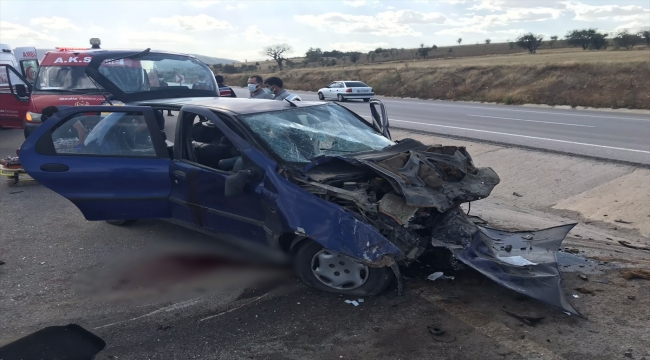 GÜNCELLEME - Kütahya'daki kazada 2 kişi öldü, 2 kişi yaralandı