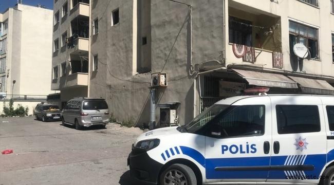 Kayseri'de ikinci kattan düşen kadın yaralandı