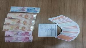 Kayseri'de kumar oynayan 19 kişiye 19 bin 950 lira ceza