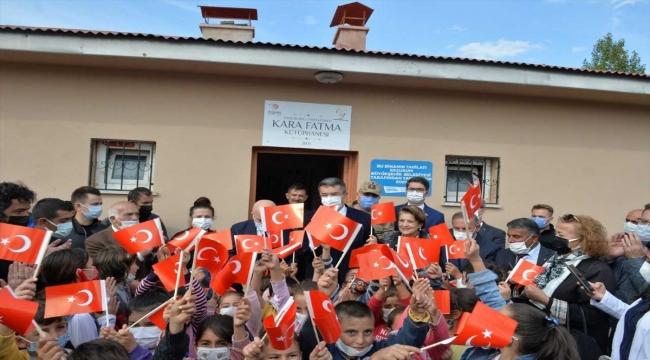 """Milli Mücadele'nin kahramanı """"Kara Fatma""""nın adı Erzurum'da kütüphaneye verildi"""
